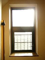 スリムシェードウォールフィッターなし・出窓の西日状況
